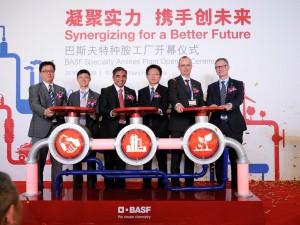 巴斯夫全新特种胺生产装置在南京建成投产
