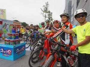 近两千长沙市民参与嘉宝莉漆公益骑行 (19)