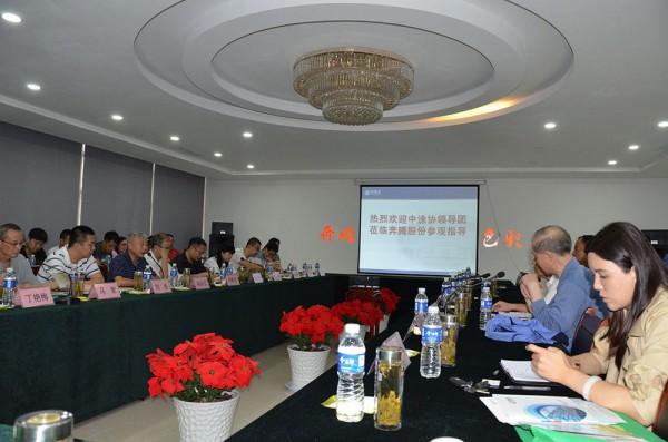 一线 | 中国涂料工业协会一行深入奔腾漆业调研